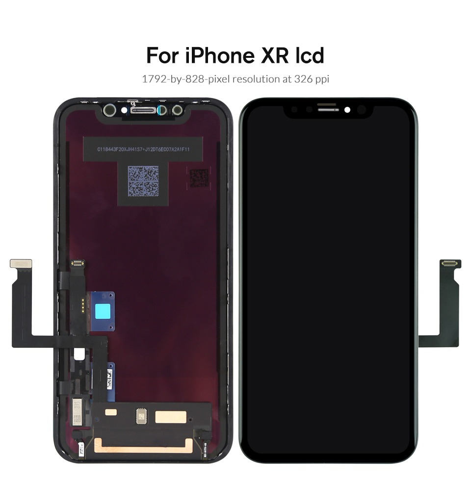 HTB1 5SZaovrK1RjSspcq6zzSXXaA Grade For iPhone X S Max XR LCD Display For Tianma AMOLED OEM Touch Screen With Digitizer Replacement Assembly Parts Black
