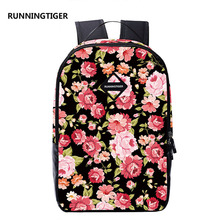 Новинка; Лидер продаж распродажа женские рюкзаки с цветами тиснение девочек студентов мешок школьные рюкзаки путешествия рюкзак летом рюкзаки