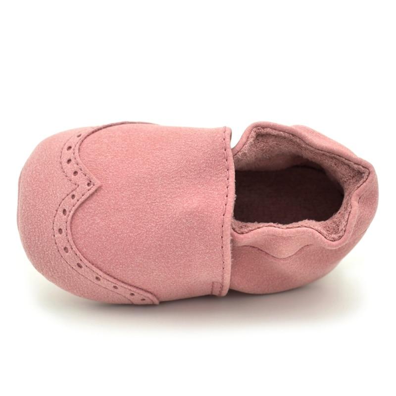 Newborn Spring Colour Baby Soft Anti-slip First Walker Shoes 4