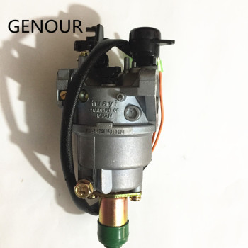 цена на 5KW HUAYI Carburetor For 13HP EC6500 EC4500 SPG6500 GX390 188F ENGINE generator,5.5kw EC6500,TG6500,LT6500 GENERATOR CARBURETOR