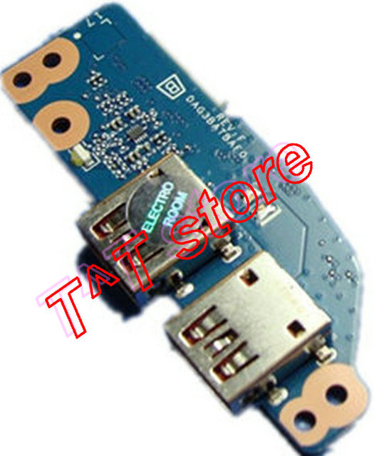 original FOR HP 17 AN series 17 an012dx USB Board DAG3BBTBCE0 931589 001  test good free shipping-in Computer Cables & Connectors from Computer &