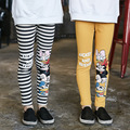 New Arrive Brand Girls' Leggings Spring & Autumn 4 Colors Girls Kids Cartoon Leggings 5-14Y Kids Cotton Fashion Children Pants
