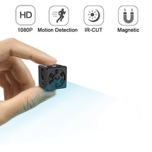 Mini Camera 1080P Sensor Portable Security mini Camcorder small cam Night Vision Motion Detection Support Hidden TF card pk sq 9(China)