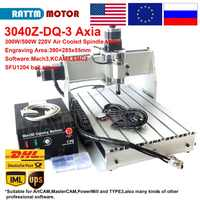 【EU STOCK】 3 Axis 3040 Z-DQ CNC 500W Spindle CNC ROUTER ENGRAVER ENGRAVING Milling Cutting DRILLING Machine Ballscrew 220V/110V