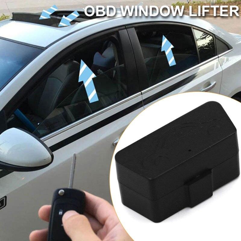 Vehemo автоматическое OBD подъемное устройство для окон автомобиля доводчик стекол автомобиля стекло профессиональный пульт дистанционного управления закрывающий модуль системы