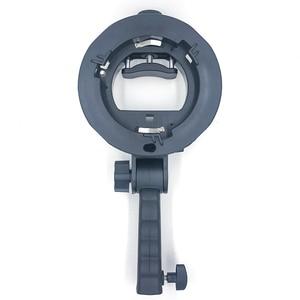 Image 5 - Uchwyt typu S uchwyt Bowens S uchwyt do lampy błyskowej Speedlite akcesoria do studia fotograficznego Snoot Softbox parasol uchwyt do mocowania Bowens