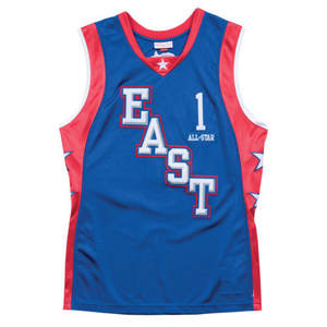 c279fc7fb217 Tracy All Star east basketball jersey Embroidery Stitched Customize any  name number