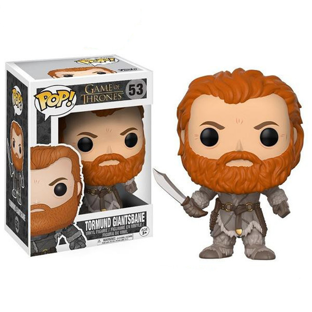 Funko pop Song Of Ice And Fire Game Of Thrones Characters Vinyl Action & Toy Figures Collectible Model Toy for Children 3