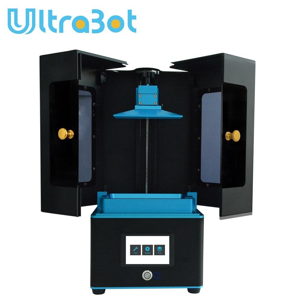 Ultrabot nouvelle imprimante LCD 3d résine UV photonique DLP/LCD Impresora utilisation de bureau 405nm résine UV pk photon anet a6 a8 prusa i3