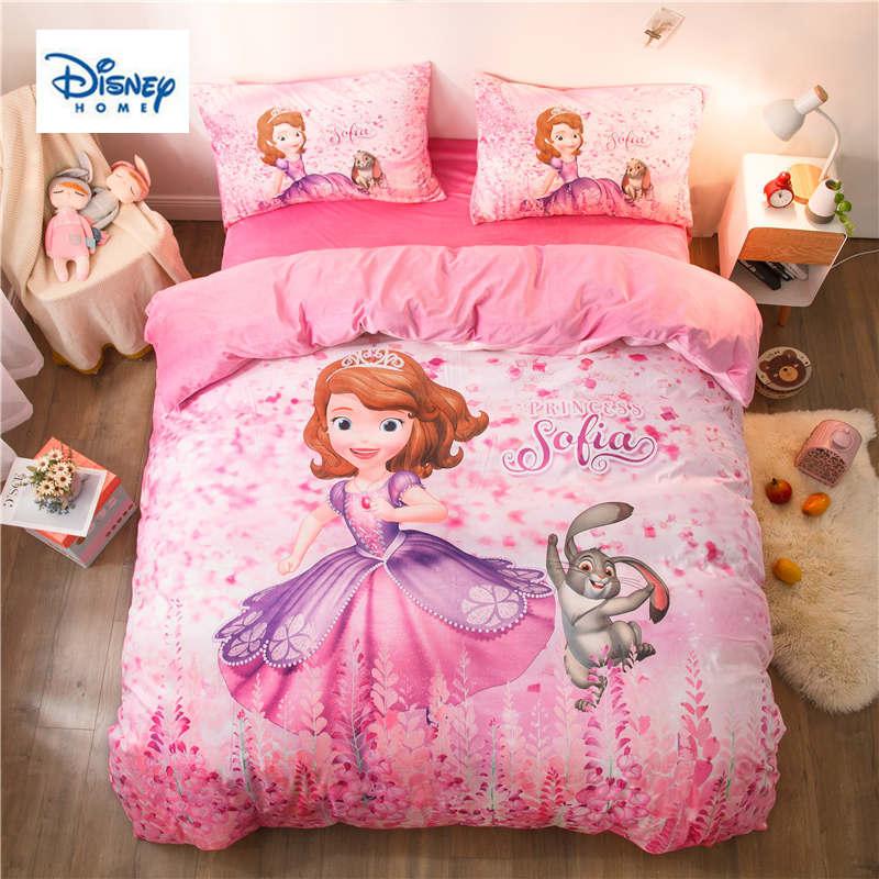 disney sofia princess bedding set for kids girls comforter