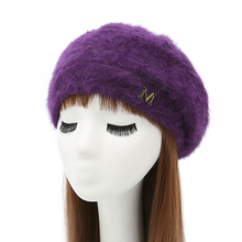 Фотография Beanies for ladies beanie cap beret beanie hat beanie women winter hat beret winter hats for women bonnet femme a warm knitted