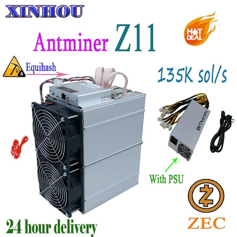 Asic Miner Antminer Z11 135k with PSU Equihash ZEC ZEN mining Better Than Z9 z9mini B7 Baikal G28 Whatsminer M3X Innosilicon A9Asic Miner Antminer Z11 135k with PSU Equihash ZEC ZEN mining Better Than Z9 z9mini B7 Baikal G28 Whatsminer M3X Innosilicon A9