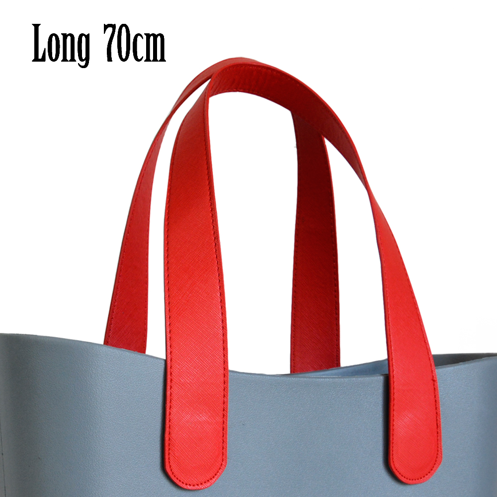 New 1 Pair Long 70CM Flat Pu Faux Leather Handles for Obag AMbag Classic  Mini O Bag Women s Bags Shoulder Handbag-in Top-Handle Bags from Luggage    Bags on ... 660e5a99d58