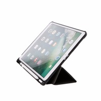 For IPad Pro 10 5 Inch Faux Leather Flip Folio Case Leather Slim Smart Cover With