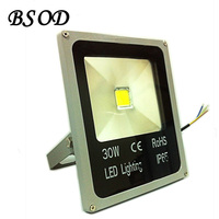 8pcs Lot New LED Flat Panel Flood Light 30W Outdoor White And Warm White Lamp IP66