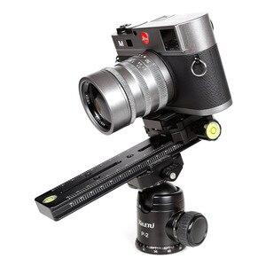 Image 3 - XILETU LCB 18B מסלול דולי Slider התמקדות הפוקוס Rail Slider & קלאמפ וqr נפגש צלחת Arca שוויצרי עבור DSLR מצלמה canon