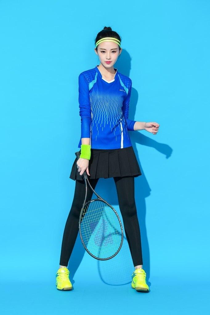 Terno de esportes badminton roupas de tênis