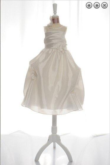 free shipping   flower     girl     dresses   for weddings 2016 first communion christmas organza baby   girls   christening   dresses   white   dress