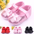 new sequined baby toddler shoes / baby girl slip as soft-soled shoes / Free Shipping