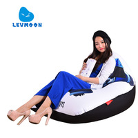 LEVMOON Beanbag Sofa Chair Panda Man Seat Zac Comfort Bean Bag Bed Cover Without Filler Cotton