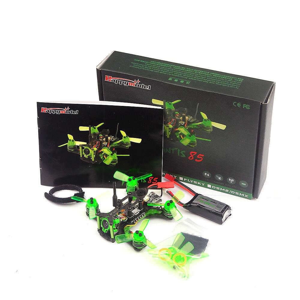 Happymodel Mantis85 85mm FPV Racing RC Drone W Supers F4 6A BLHELI S 5 8G 25MW