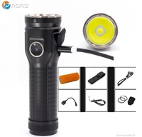 Rofis MR70 CREE XP G2 Neutral white 3500 lumens micro USB rechargeable LED Flashlight