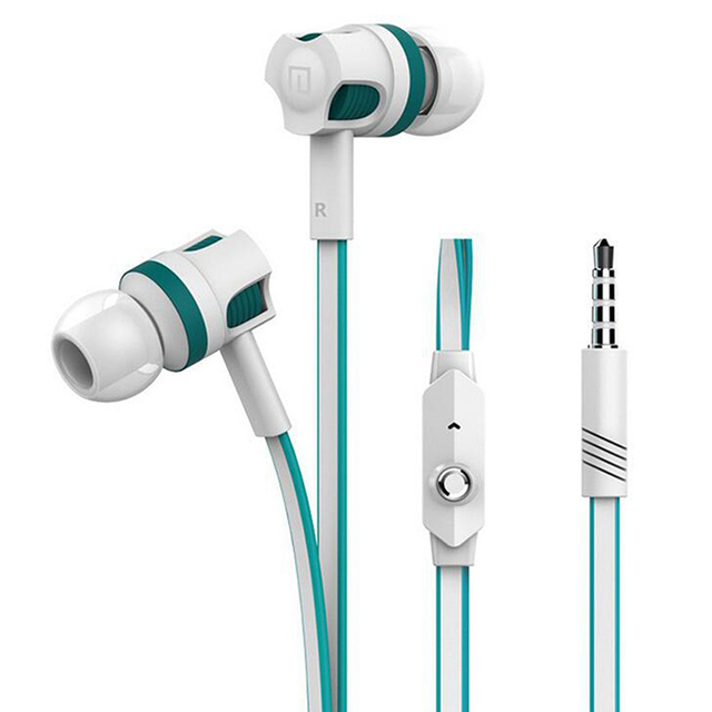 with mic earphones for iPhone 6 6s xiaomi Mobile Phone PC 3.5mm In ear Stereo Earphone Earbuds Headsets