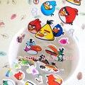 Fireman sam pegatinas 1 unids/envío gratis Hungry birds niños de dibujos animados pegatinas de burbuja calcomanías 3d estéreo pájaros de bebé emoji
