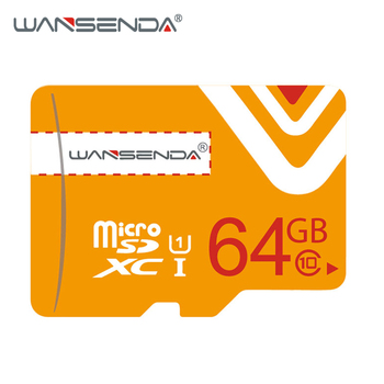 Original WANSENDA Micro SD Card 64GB Class 10 Memory Card microSD 8GB 16GB 32GB TF Card microSDHC/SDXC for Smartphone/Tablet PC