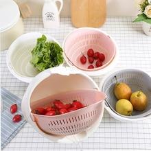 Drain Washer Basket Kitchen Vegetables Fruit cleaning Strainer