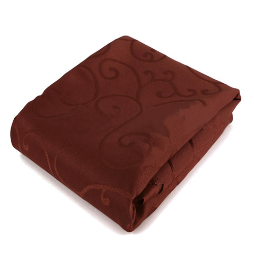 Square Tablecloths Catering Table Cover Wedding Party Restaurant Banquet Decor 1.2*1.2m black coffee