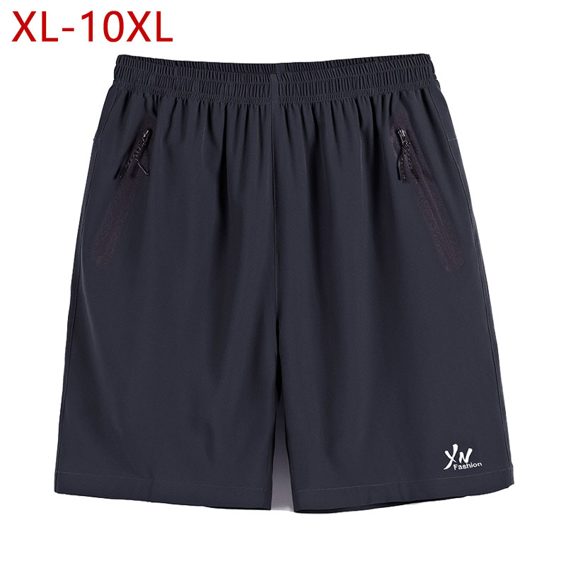 8XL 9XL 10XL Bermudas Short Homme Quick Drying Boardshorts Klassisk stil Vattentät Män Shorts Lös Sommar Soft Male Short