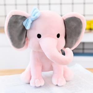 Image 2 - 25cm Bedtime Originals Choo Choo Express Plush Toys Elephant Humphrey Soft Stuffed Plush Animal Doll for Kids Birthday Gift