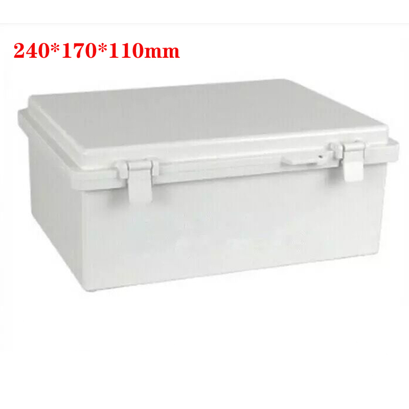 1pc Waterproof Electronic Junction Box Screw Plastic Sealed Enclosure Case Shell Outdoor Terminal Cable Box 240x170x110mm1pc Waterproof Electronic Junction Box Screw Plastic Sealed Enclosure Case Shell Outdoor Terminal Cable Box 240x170x110mm