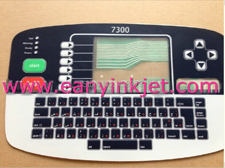 ФОТО New Original Linx keyboard Linx 7300 inkjet keyboard display for Linx 7300 inkjet printer