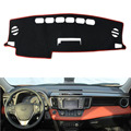 Dongzhen Fit For Toyota RAV4 2013-2016 Car Dashboard Cover Avoid Light Pad Instrument Platform Dash Board Cover Mat