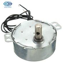 220-240VAC 4 Вт черный двойного провода 2,5-3 об./мин. синхронный двигатель для микро-печи
