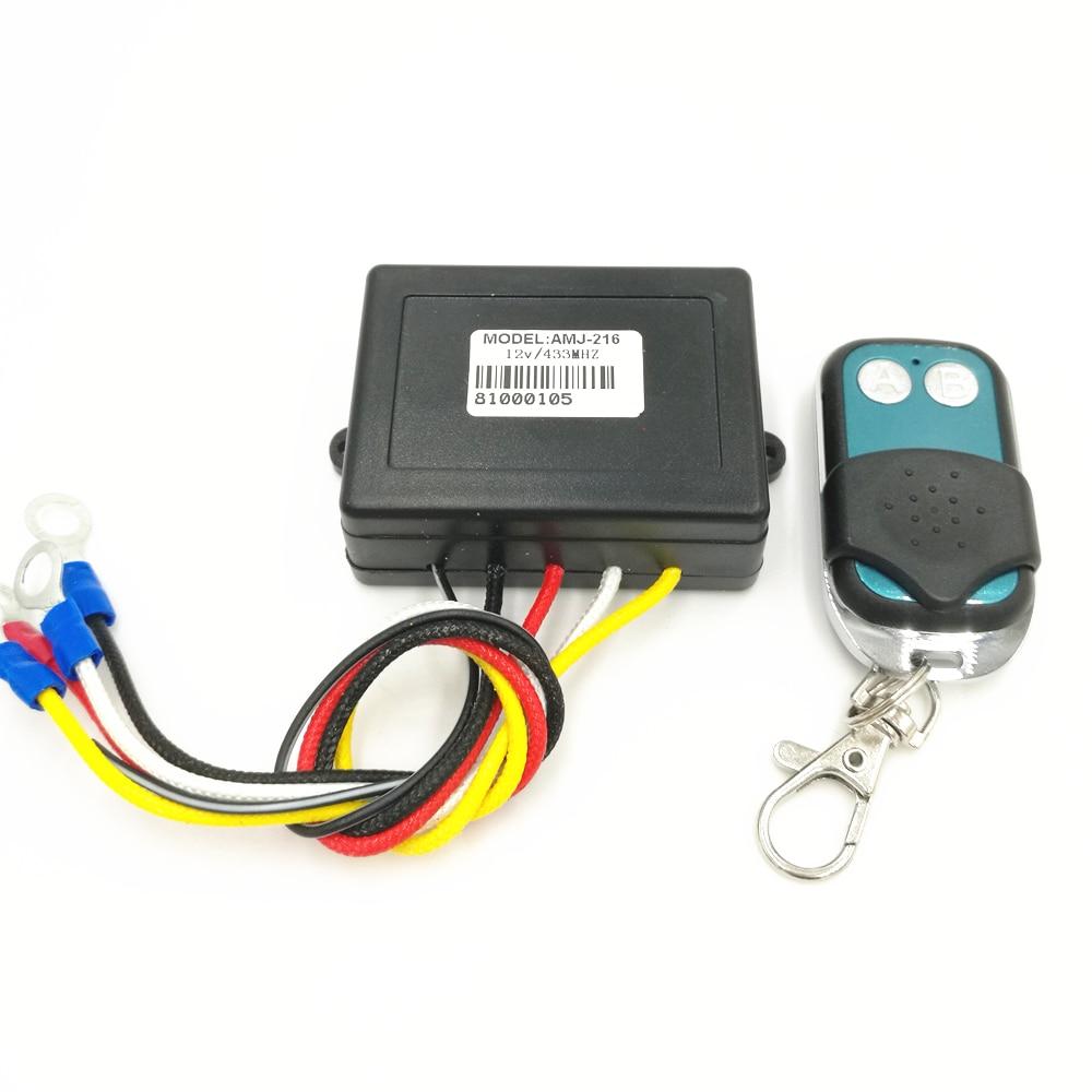 winch remote control 50ft 15m 12v winch wireless remote control kit for jeep truck atv winch dc 12v hot sale [ 1000 x 1000 Pixel ]