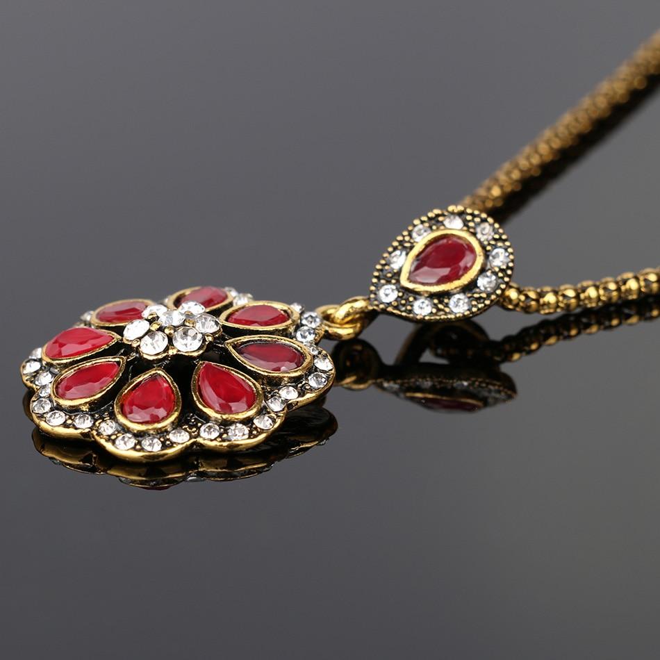 Fashion mewah Jenis Kelopak Merah Nigeria Pernikahan Afrika Beads - Perhiasan fashion - Foto 3