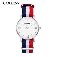 Fashion Women Watch Women Quartz Wristwatch Canvas Belt Ladies Dress Watch Women S Watches Reloj Mujer