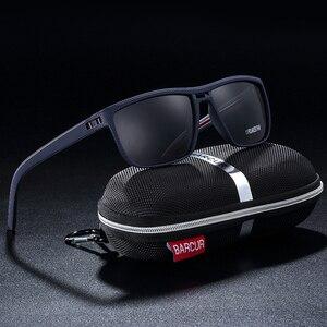 Image 3 - BARCUR الرياضية الرجال الاستقطاب النظارات الشمسية الذكور القيادة نظارات شمسية للرجال بولارويد عدسة مكبرة Gafas دي سول masculino