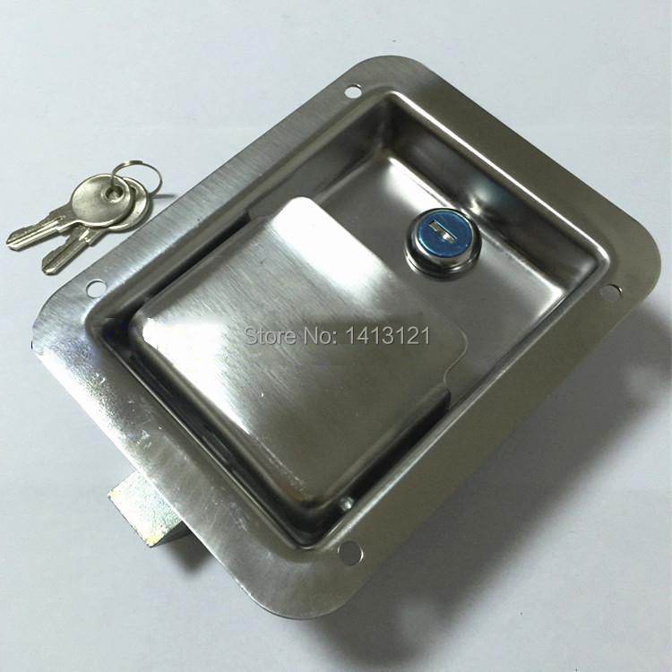 free shipping truck lock Door Hardware Lock Electric cabinet lock fire box toolcase lock Industrial equipment door handle knob free shipping metal hasp toolcase stainless steel lock box clasp equipment airbox instrument adjustable buckle fastener hardware