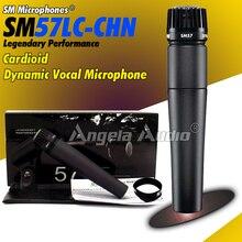 Top Qualité Karaoké De Poche Dynamique Cardioïde Vocal Microphone Filaire Mike Instrument Mic Pour SM57LC 57LC SM57 SM 57 LC Microfone