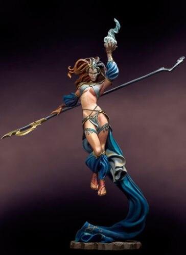 Unpainted 54mm Ancient Fantasy Warrior Figure Model Garage Kit Resin Unassembled