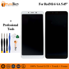 5.45 For Xiaomi Redmi 6 LCD screen display+touch digitizer for Black lcd with Frame