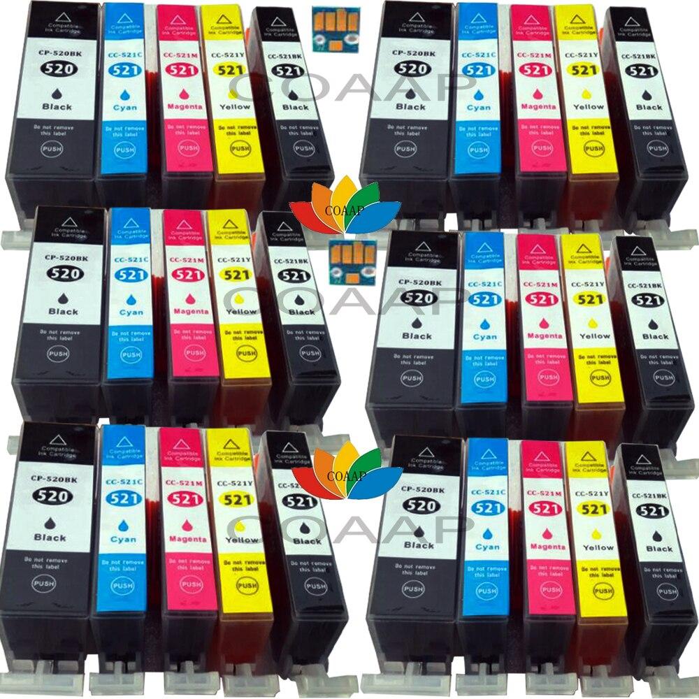 30 for Compatible Canon Pixma IP3600 IP4600 IP4700 MP540 MP550 MP560 MP620 MP640 PGI520 CLI521 ink