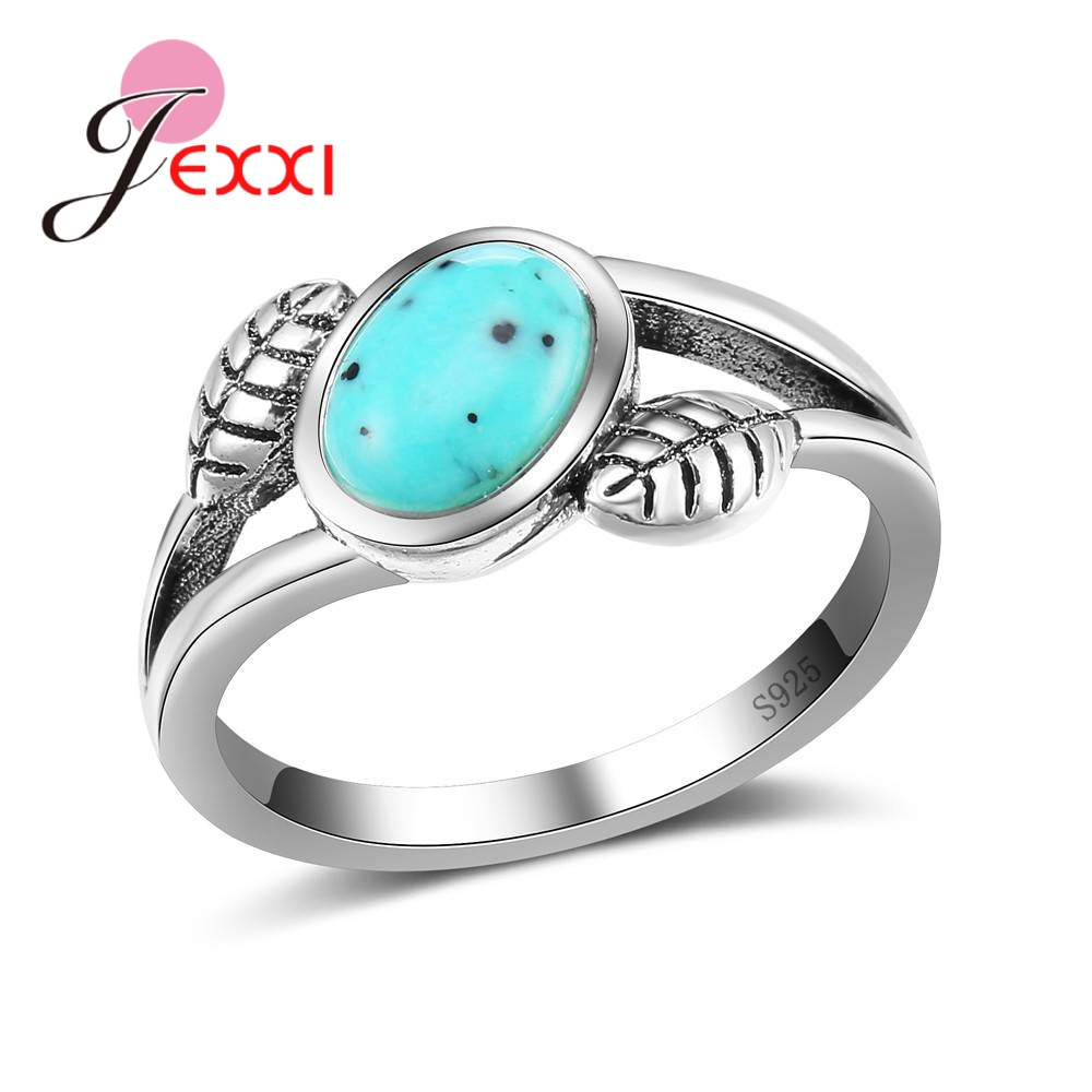 Fire Leaves Shape Opal Ring For Women Anniversary Engagement Appointment Statement Jewelry Factory Price Birthday Gift