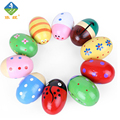 Toy Woo Wooden Music Toys Designed EggMusic Shaker Instrument For 1~15 Years Old Children Music Early Education Drum