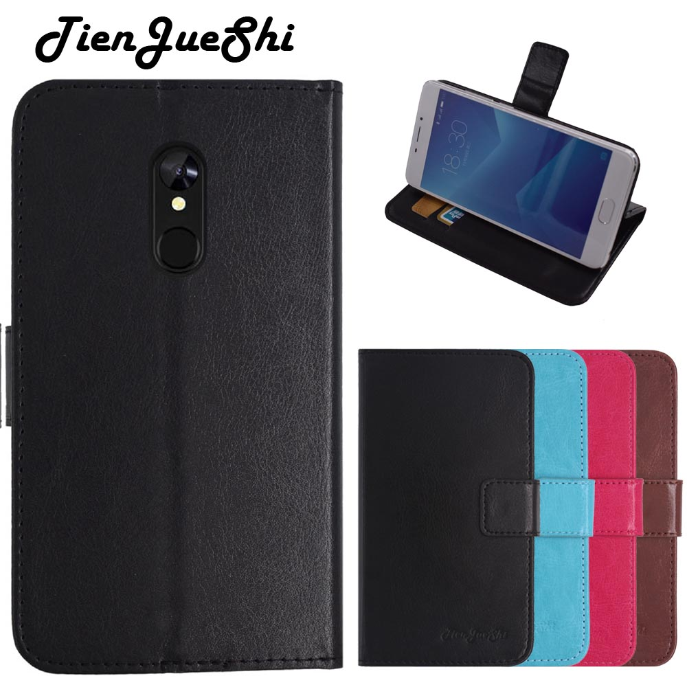 TienJueShi Flip Colour Book Stand Protect Leather Cover Shell Wallet Etui Skin Case For Vernee m6 5.7 inch