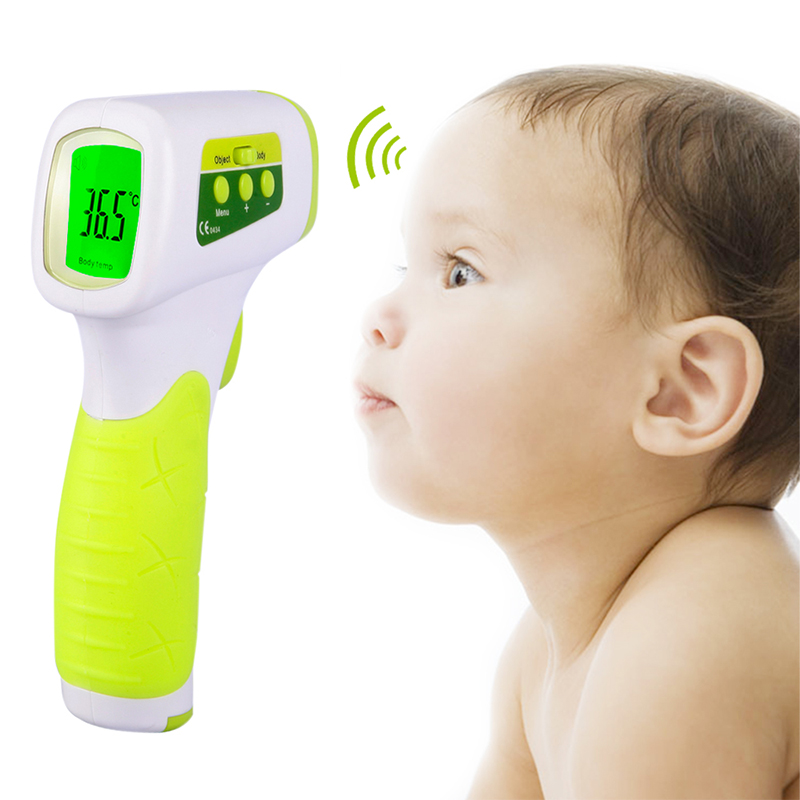 Baby Ear And Forehead Thermometer Accurate Professional 4 In 1 Digital Medical Infrared Body Fever Thermometers Punctual Timing Mother & Kids